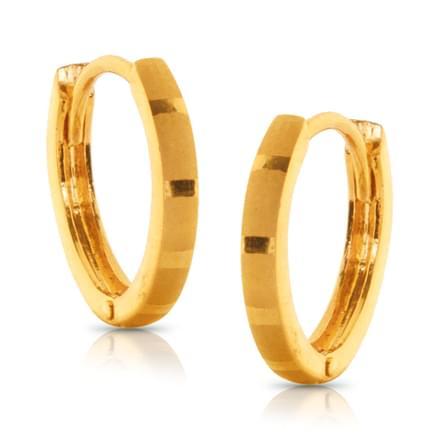 Joel Classic Gold Earrings