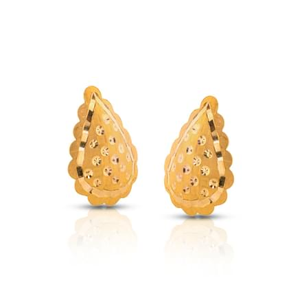 Ina Glint Gold Stud Earrings