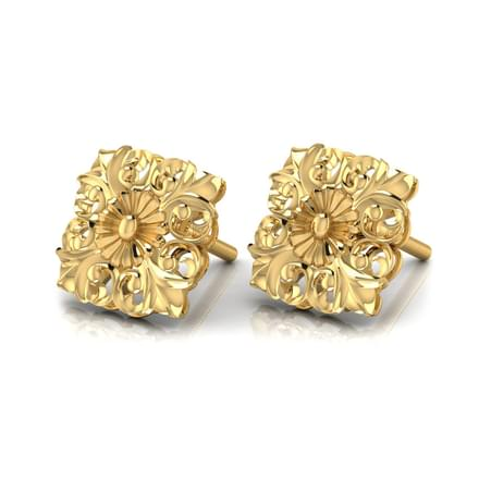 Quad Filigree Stud Earrings