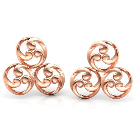 Trinity Filigree Stud Earrings