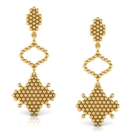 Artistic Jharokha Drop Earrings