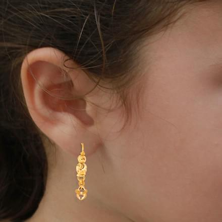 Honey Dew Drop Earrings