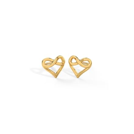 dc90288ae 84 Studs And Tops Gold Earrings Designs, Buy Studs And Tops Gold ...
