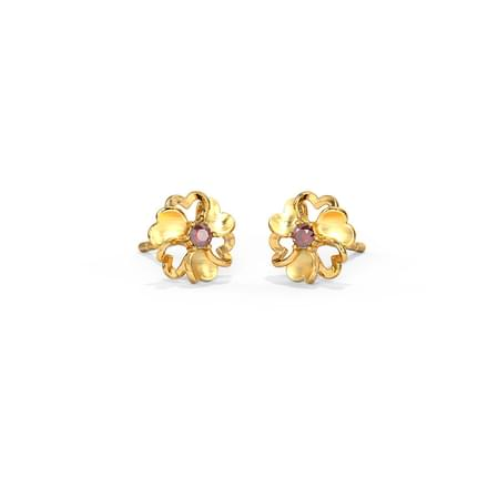 earring hinds stud gold zirconia set box l jewellers cubic jewellery earrings f three hoops colour