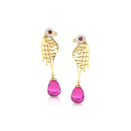 Kira Lattice Drop Earrings