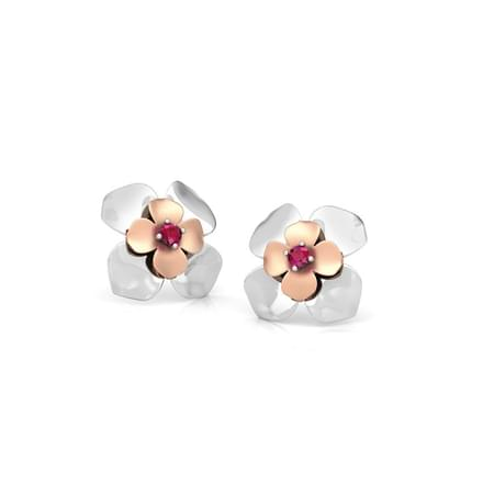 Claire Bloom Stud Earrings