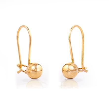 Daani Gold Drop Earrings