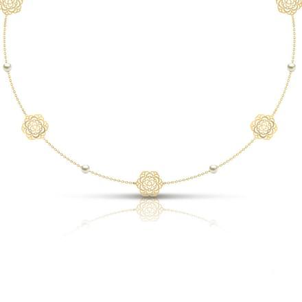 Diane Cutout Necklace