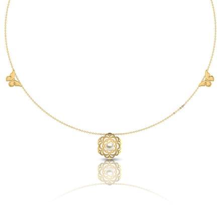 Kasey Cutout Necklace