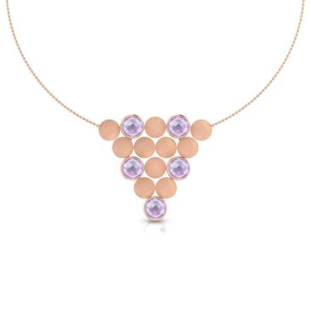Scarlett Stamped Necklace