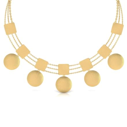 Kacie Stamped Necklace