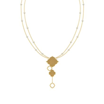 Pearl Jharokha Necklace