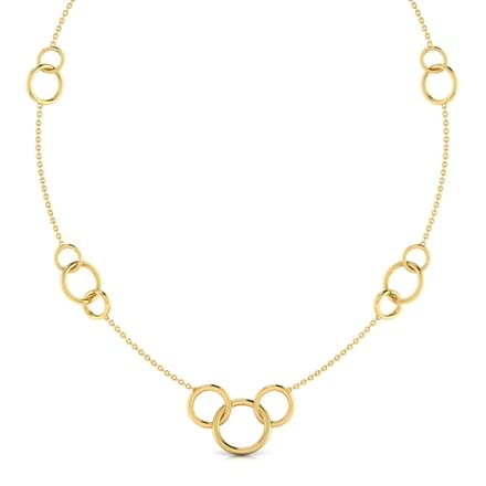 Linked 'O' Necklace