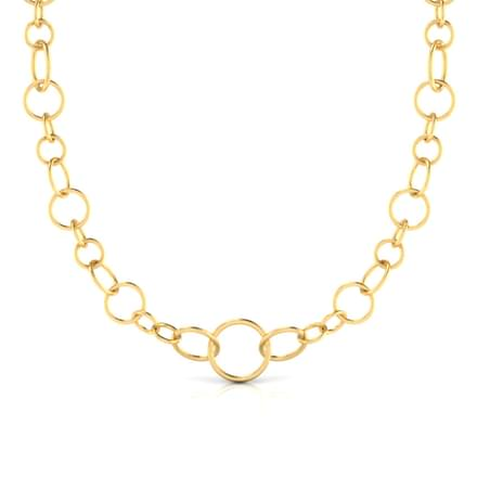 Bold 'O' Necklace