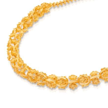 Golden Bouquet Necklace