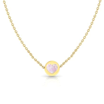 Cute Heart Reversible Necklace