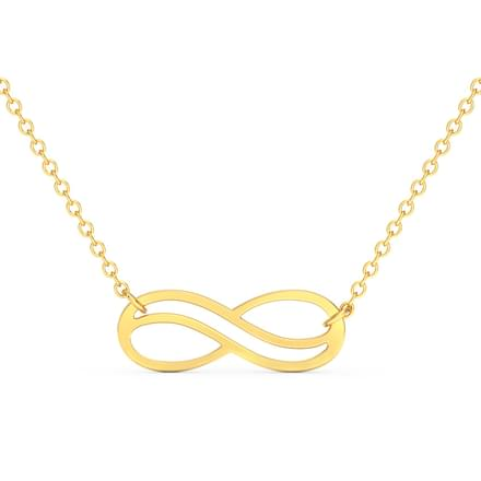 Infinity Bar Necklace