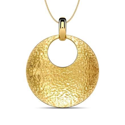 150 gold pendants designs buy gold pendants price rs 4072 hammered round pendant hammered round pendant aloadofball Images