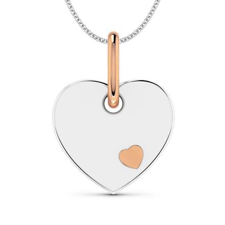 Blushing Heart Pendant