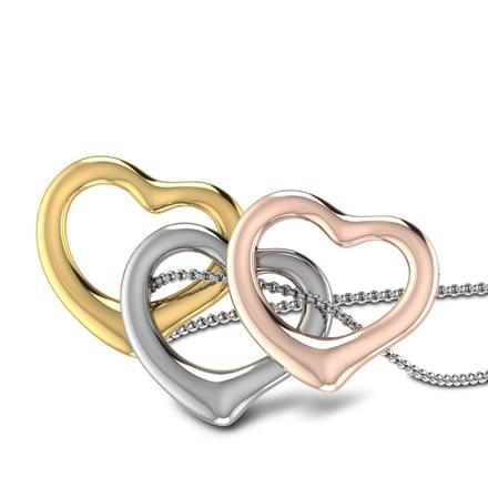 Trio of Hearts Pendant