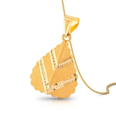 Anvi Beaded Gold Pendant