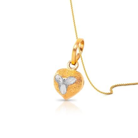 Heart Glint Pendant