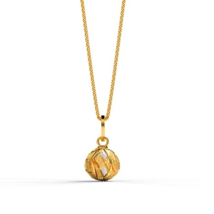 Sphere Textured Pendant
