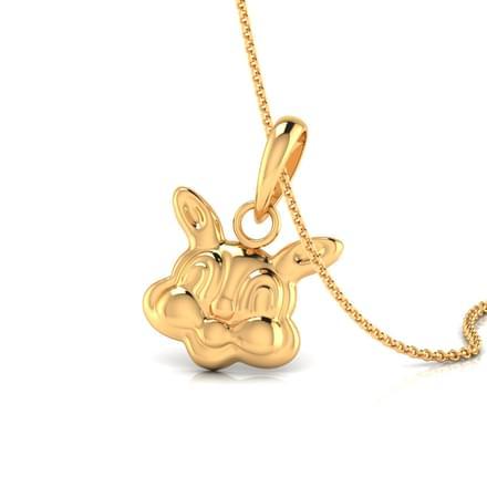 Bugs bunny pendant jewellery india online caratlane bugs bunny pendant aloadofball Choice Image