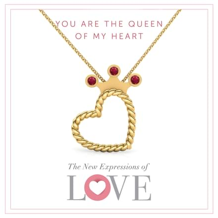 Queen of My Heart Pendant