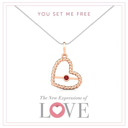 You Set Me Free Pendant