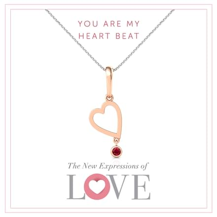 My Heart Beats For You Pendant