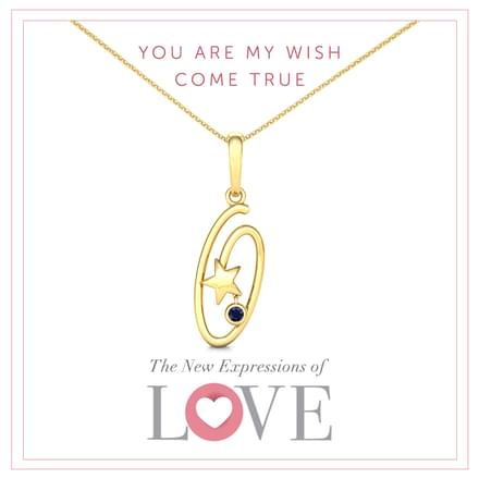 You Are My Wish Come True Pendant