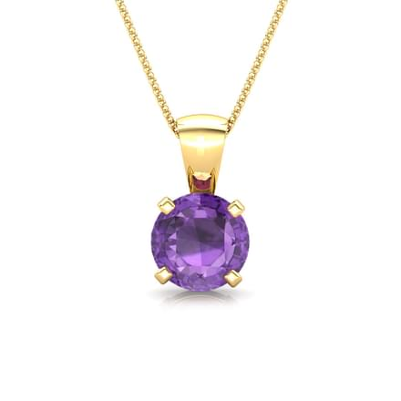 Simply Gemstone Pendant