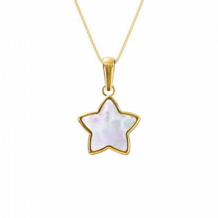 Star Mother of Pearl Pendant