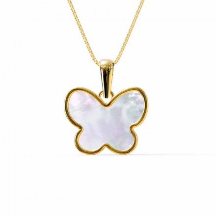 Flutter Mother of Pearl Pendant