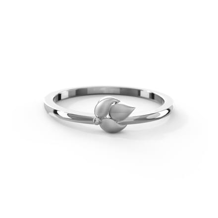 Eros Platinum Ring