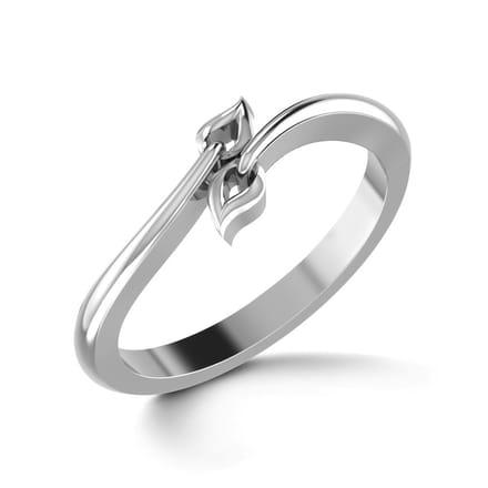 forever platinum ring jewellery india caratlane