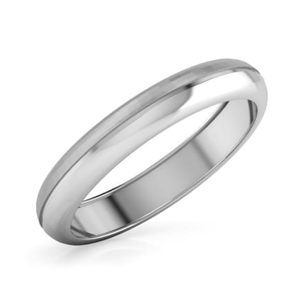 Popeye Platinum Band for Him