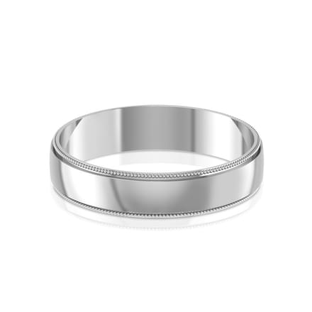 Homer Platinum Band for Him