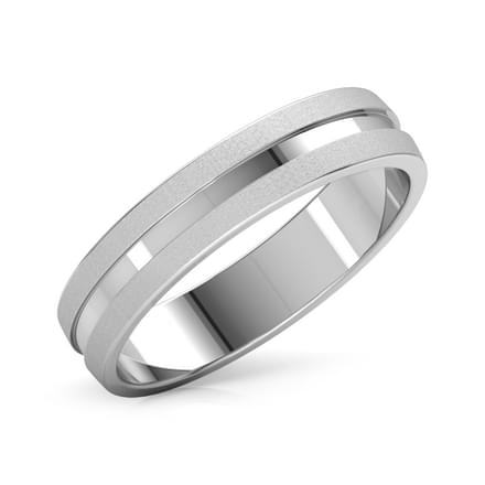 Odysseus Platinum Band for Him