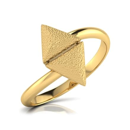Golda Hammered Ring