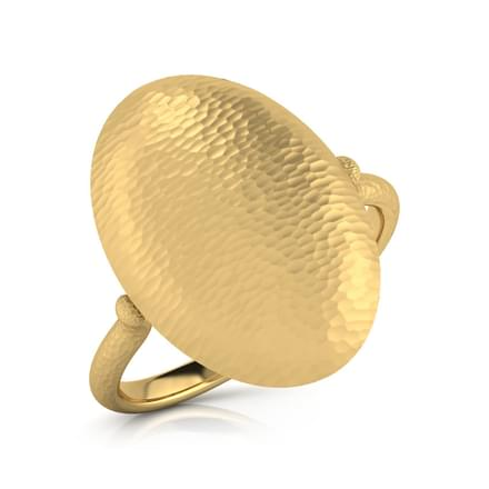 Glinda Hammered Ring