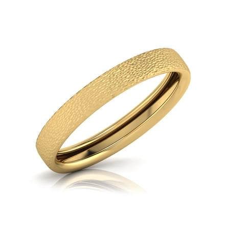 flower ring wedding handmade gold band bands engraved