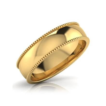 Zoe Gold Band for Her