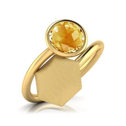 Jovena Stamped Ring