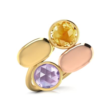 Leya Stamped Ring
