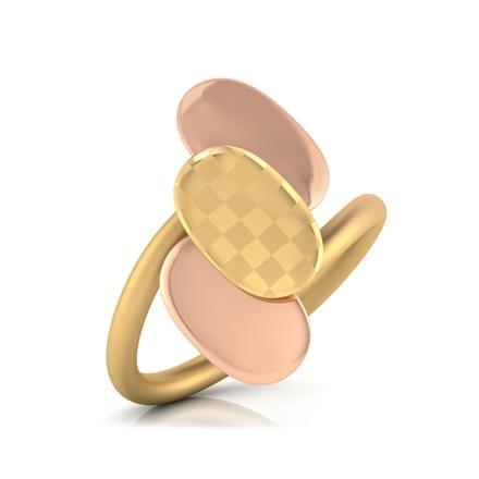 Adella Stamped Ring