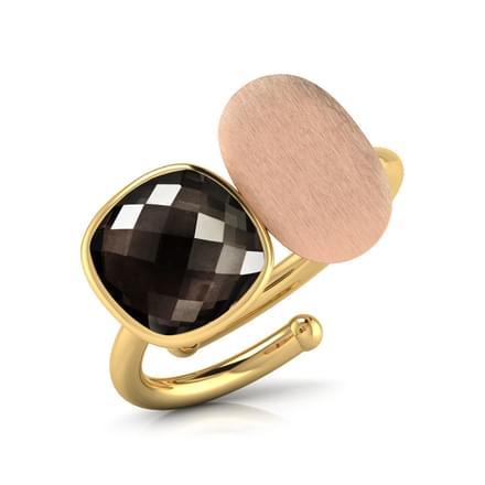 Olivia Stamped Ring