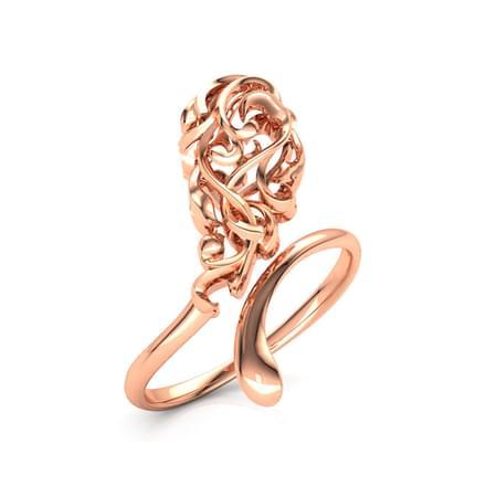 Arc Filigree Ring