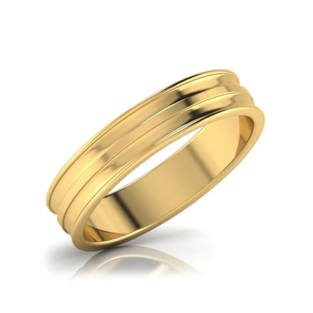 Iris Gold Band for Her